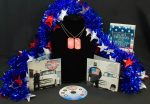 American Made CD with Dog-tag and Book
